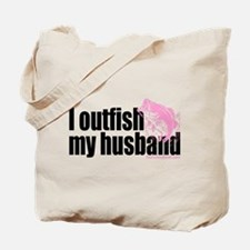 Outfish My Husband Tote Bag