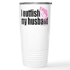Outfish My Husband Travel Mug