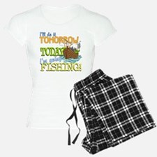 Today I'm Going Fishing Pajamas