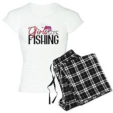 Girls Gone Fishing Pajamas