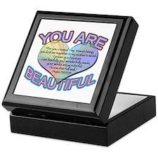 You Are Beautiful Keepsake Box