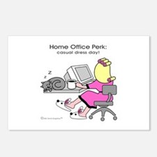 Home Office Perk: Casual Dress Day! (8 postcards)