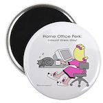 """Home Office Perk (2.25"""" Magnet (100 pack)"""