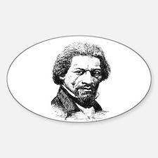 Frederick Douglass Oval Decal