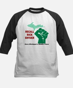 Recall Rick Snyder Sign Tee
