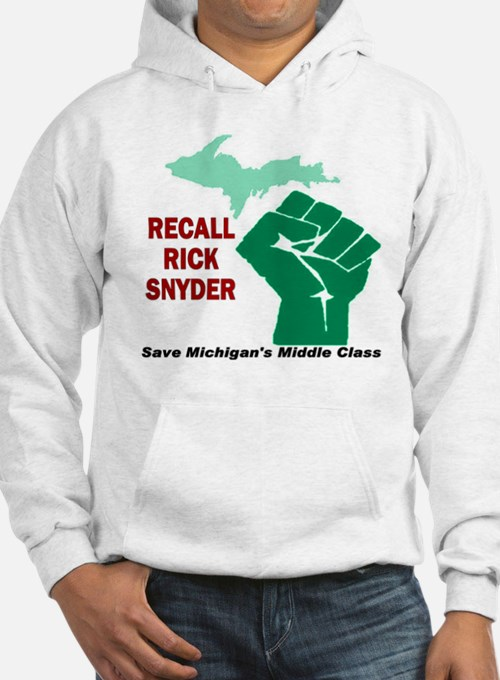 Recall Rick Snyder Sign Hoodie