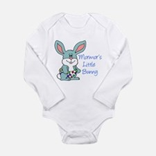 Mormor's Little Bunny Long Sleeve Infant Bodysuit