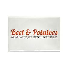 Beet & Potatoes Rectangle Magnet