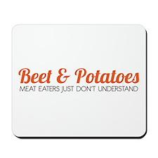 Beet & Potatoes Mousepad