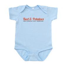 Beet & Potatoes Infant Bodysuit