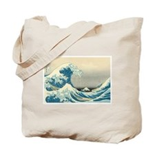 Hokusai Great Wave Tote Bag