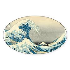 Hokusai Great Wave Decal