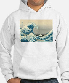 Hokusai Great Wave Jumper Hoody