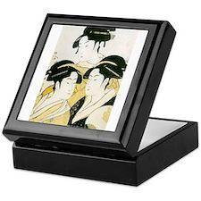 Utamaro Three Women Keepsake Box