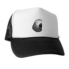 Congo African Grey Trucker Hat