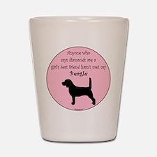 Girls Best Friend - Beagle Shot Glass