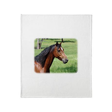 Horse 9Y894D-009 Throw Blanket