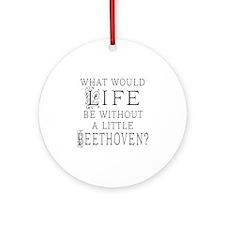 Mendelssohn Quote Ornament (Round)