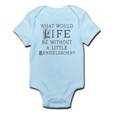 Mendelssohn Quote Infant Bodysuit