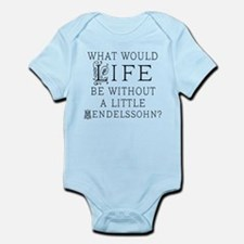 Mendelssohn Quote Infant Bodysuit