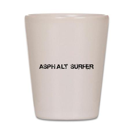 Asphalt Surfer Shot Glass