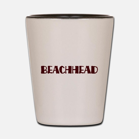 Beachhead Shot Glass