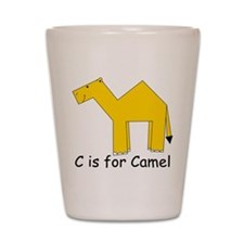 C is for Camel Shot Glass