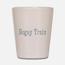 Bogey Train Shot Glass