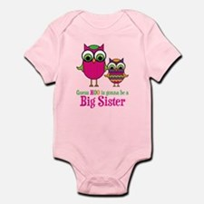 Guess Hoo Sister to be Infant Bodysuit