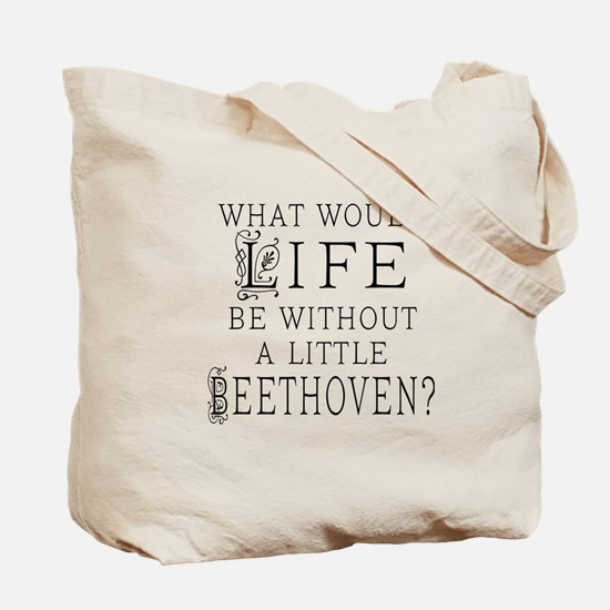 Schumann Quote Tote Bag