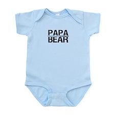 Papa Bear 2011 Banner Infant Bodysuit