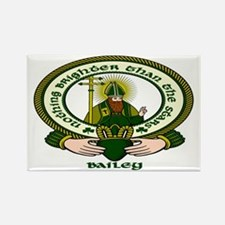 Bailey Clan Motto Rectangle Magnet (10 pack)