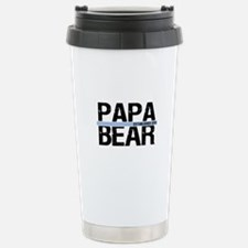 Papa Bear 2011 Banner Travel Mug