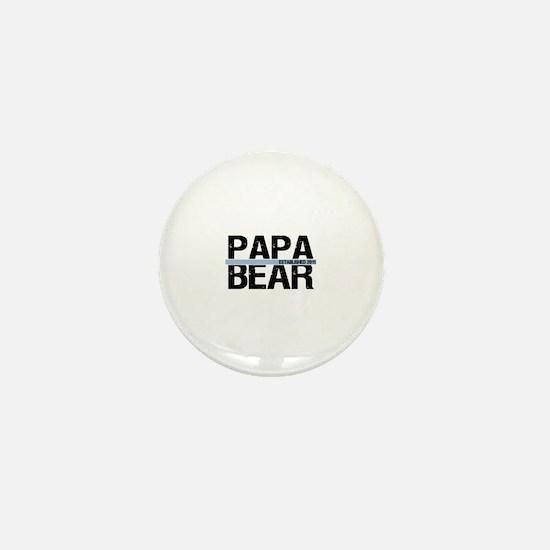 Papa Bear 2011 Banner Mini Button