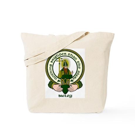 Bailey Clan Motto Tote Bag