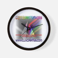 Light Speed Networks  Wall Clock