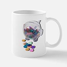 Piggy Bank Colorful Chips Mug