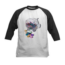 Piggy Bank Colorful Chips Tee