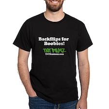 Backflips for Boobies! T-Shirt