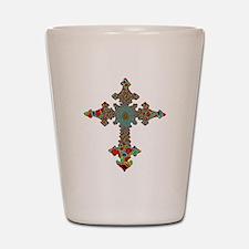 Jewel Cross Shot Glass