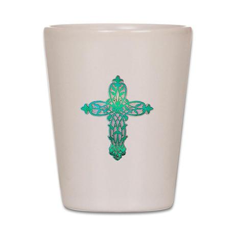 Victorian Cross Shot Glass