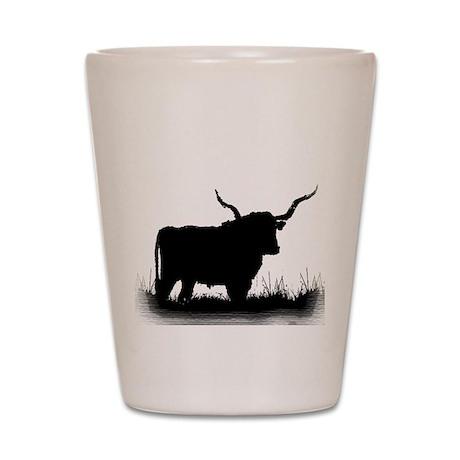 Longhorn Shot Glass