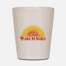 Wake and Bake Shot Glass
