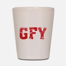 GFY Shot Glass