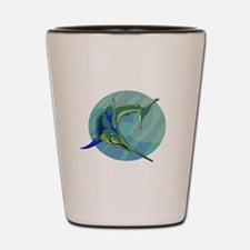 Sailfish Shot Glass