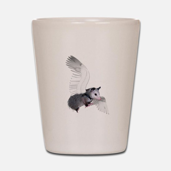 Angel Possum Shot Glass