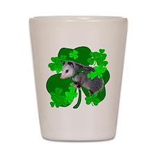 Lucky Irish Possum Shot Glass