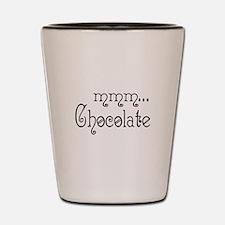 mmm... Chocolate Shot Glass