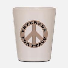 Veterans For Peace Shot Glass