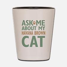 Havana Brown Shot Glass